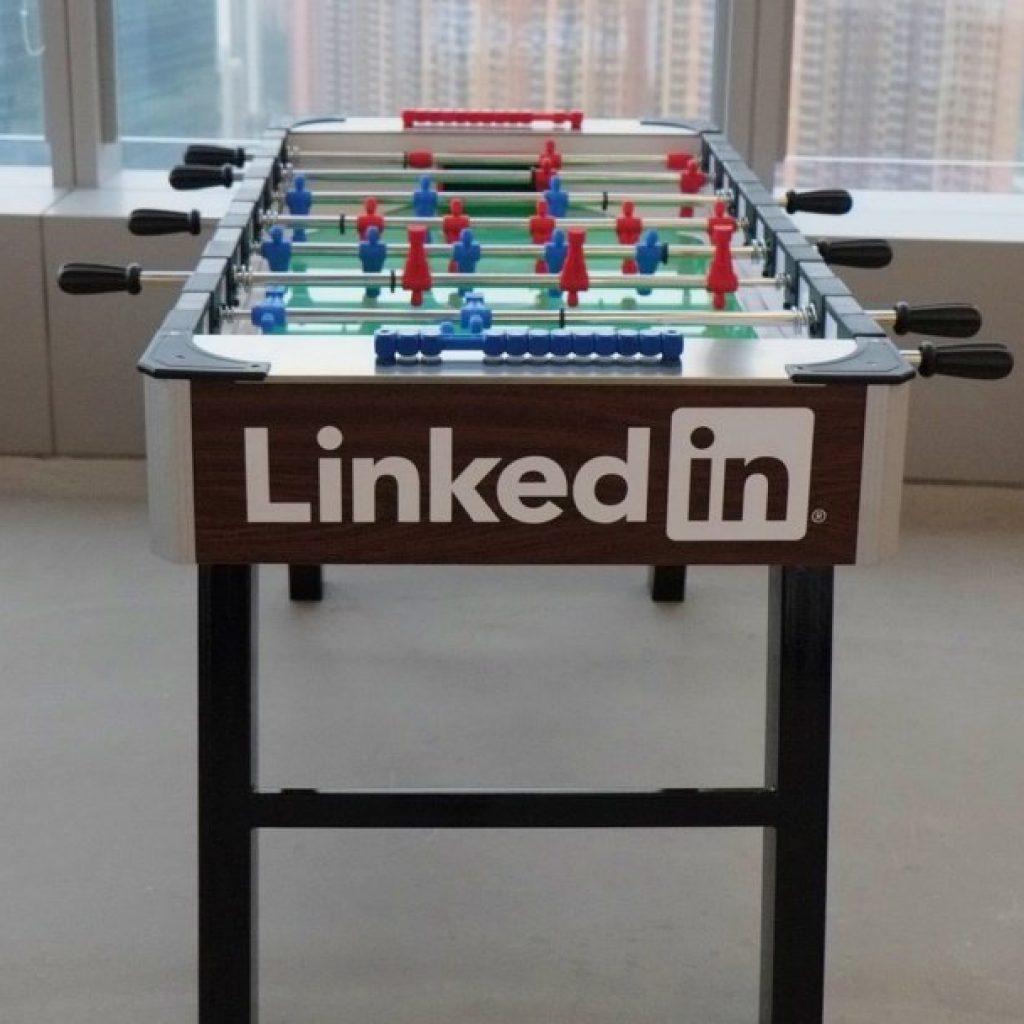 relying on LinkedIn