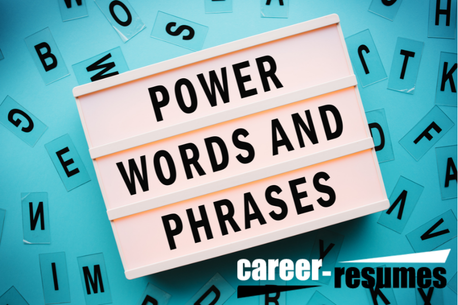 Great Phrases for a Resume
